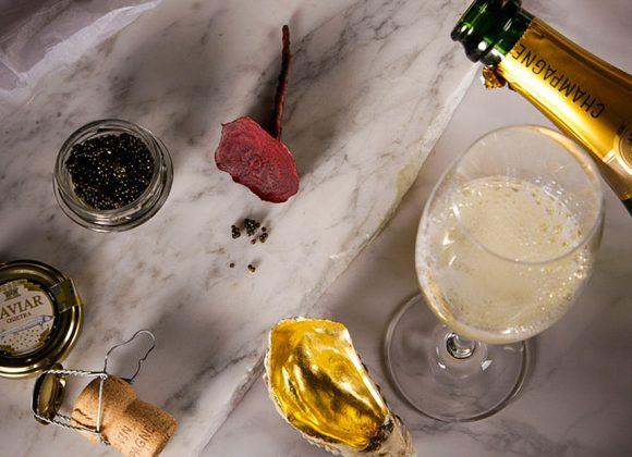 Das Amtshaus in Champagnerlaune