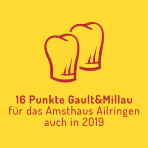 """Die Amtshausküche """"punktet"""" beim Gault&Millau"""