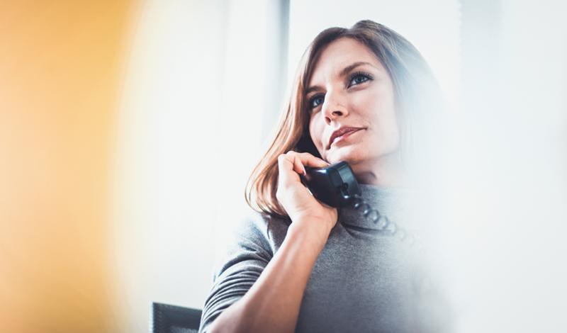 So unterstützen Sie Ihren Chef bei eingehenden Anrufen