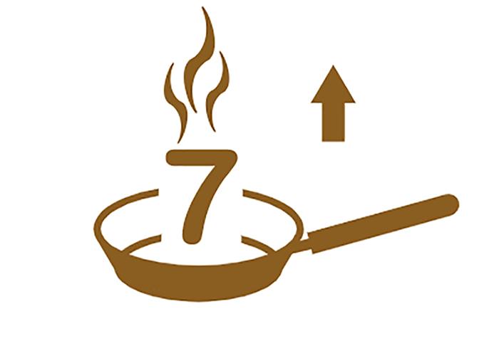 7 Pfannen im kulinarischen Reiseführer Gusto
